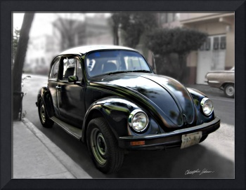 Black VW Bug 9 by Christopher Johnson