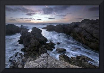 Days End - ocean seascape by mike irwin