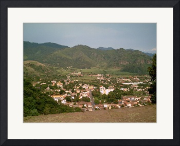 Malinalco Town as Seen from the Second Building by Christopher Johnson