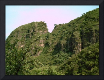 Beautiful Mountains around Malinalco by Christopher Johnson