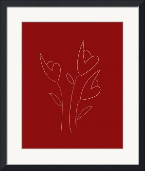 Botanical Scribbles (3 of 3) by Sion Lee Fine Art Prints and Posters