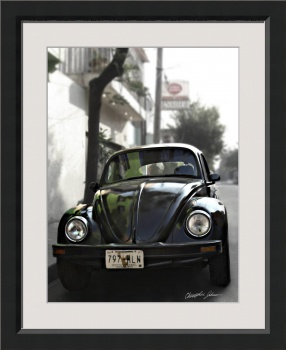 Black VW Bug 2 by Christopher Johnson
