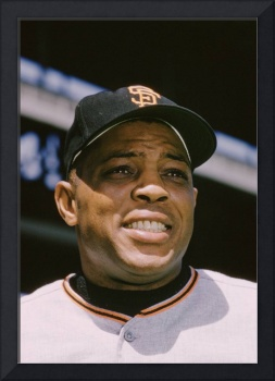 Willie Mays Close-up