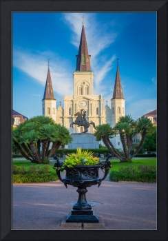 Morning at Jackson Square
