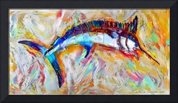 Colorful Marlin