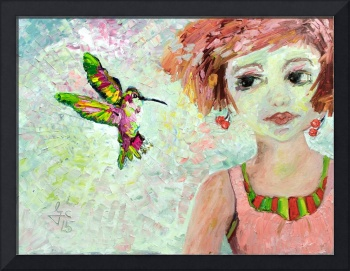 Hummingbird and Leora