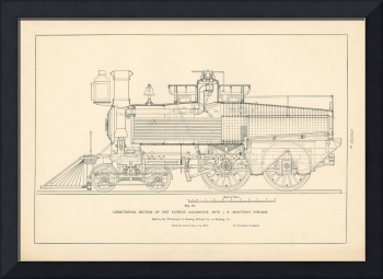 Fig.19 - Fast Express Locomotive Engraving