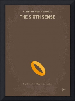 No638 My The Sixth Sense minimal movie poster