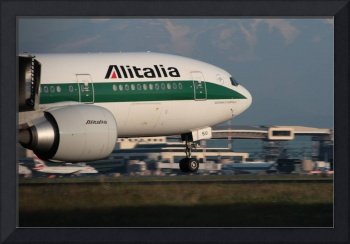 Alitalia at Malpensa
