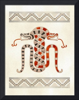 Maya Cosmic Serpents