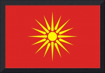 old Macedonia flag