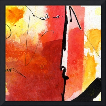 Intuitive Abstract 02 Version B by Ginette