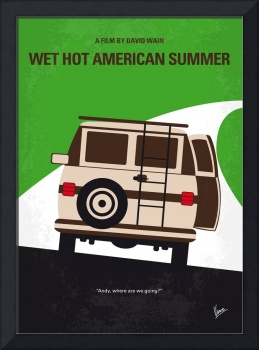No481 My Wet Hot American Summer minimal movie pos