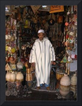 Musical Instrument Seller, Morocco