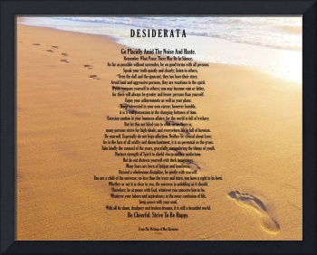 desiderata on footprints 11x14 jpeg