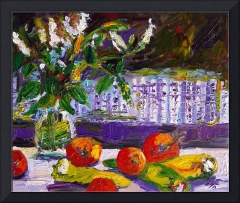 Gifts From My Garden Oil Painting by Ginette