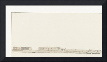 View of the port of Trani, Louis Ducros, 1778