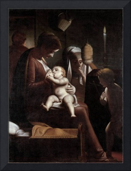 Luca Cambiasi~Madonna of the Candle