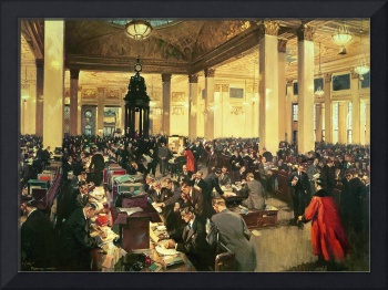 The Underwriting Room at Lloyd's of London, 1948