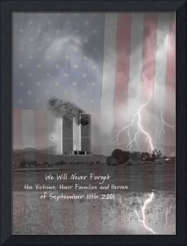 Sept 11 We Will Never Forget BWC