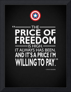 Captain America - The Price Of Freedom