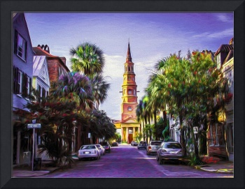Charleston South Carolina St Philips Church