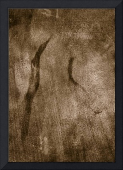photogram, abstraction cave painting hand painted