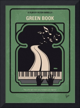 No1039 My Green Book minimal movie poster