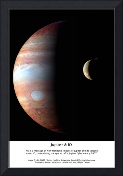 Jupiter IO Gallery Wrap