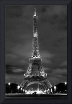 Eiffel in Monochrome