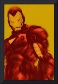 Iron Man Pop Crop Gold