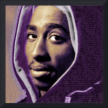 Tupac Shakur and Lyrics No Signature