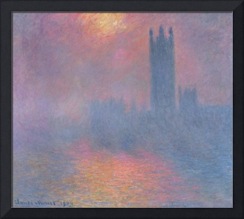 Houses of Parliament, 1904, by Claude Monet
