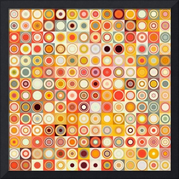 Circles and Squares 26. Modern Abstract Fine Art
