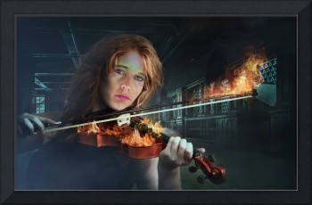 Violin on Fire