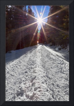 Sunrays and Snow