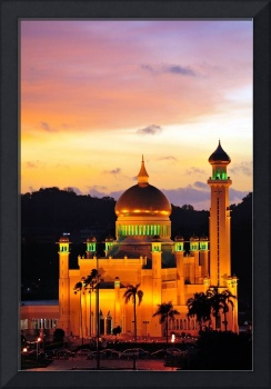 The Mosque at Sunset