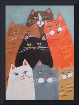 Seven Cats or Smile!