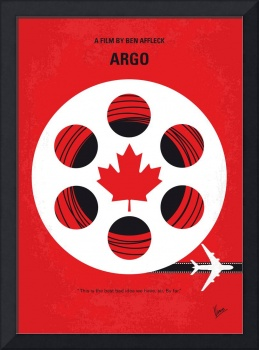 No606 My Argo minimal movie poster