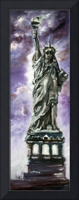 Statue of Liberty Oil Painting