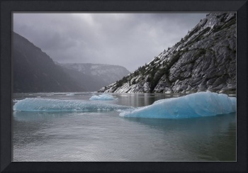 Storm and Icebergs, Endicott Arm