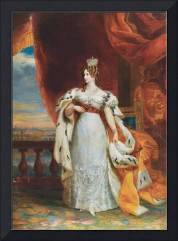 Georg Dawe, Portrait Of Empress Alexandra Fedorovn