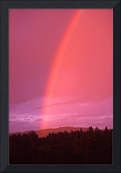 Rainbow Over Central California
