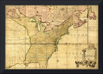 Map of Early America (1777)