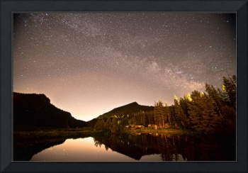 Rural Colorado Rocky Mountain Milky Way View