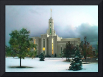 Timpanogos Temple / Winter