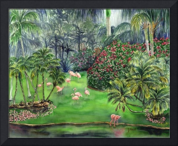 Flamingo Jungle