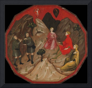 Master of 1416~A Contest between the Shepherds Alc