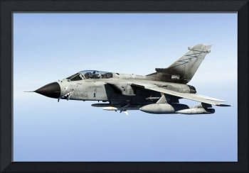 An Italian Air Force Panavia Tornado IDS armed wit