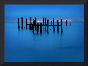 Sausalito Pilings at Dawn